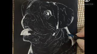 Ernie - Boxer Portrait WIP, Video 1