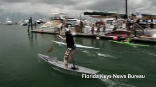Plywood Regatta Racers Hit The High Seas - Video