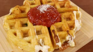 Pizza Waffles - Video