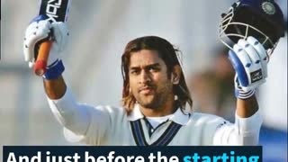 The Life Story of MS Dhoni - Video