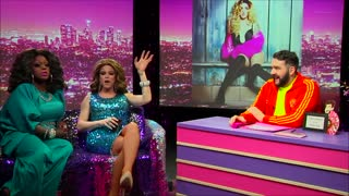 Morgan McMichaels: Look at Huh SUPERSIZED PT 1 on Hey Qween with Jonny McGovern - Video
