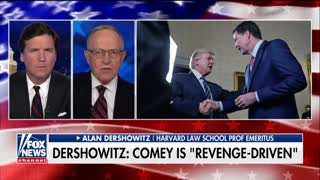 Alan Dershowitz slams 'revenge-driven' James Comey - Video