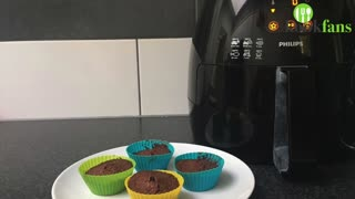 Zo maak je Bonbonbloc-muffins in de Airfryer - Make chocolate muffins in your Airfryer - Video