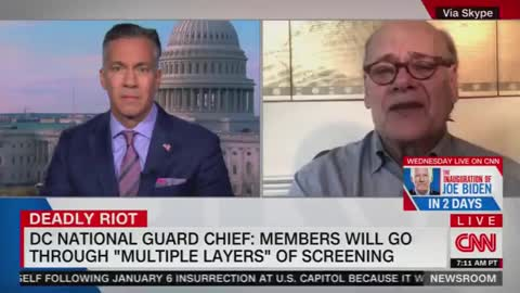 Rep Cohen on his concerns w/ the National Guard securing the Inauguration: