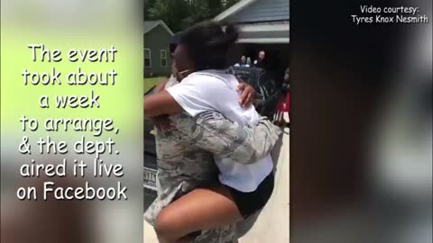 Soldier Surprises Family After Being Away For 5 Years