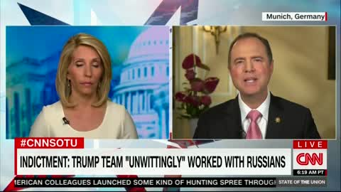 Rep. Schiff: Russian Indictment Does Not Vindicate Trump in Probe