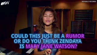 Zendaya Will Play Mary Jane In Spider-Man: Homecoming? - Video