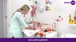 How To Give Your Baby a Sponge Bath  - Video