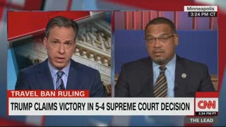 CNN's Tapper sets off Keith Ellison with question on Farrakhan ties - Video