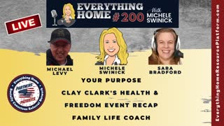 200 LIVE: Purpose, Clay Clark's Freedom Event - Take Action To Save America & You, Family Life Coach