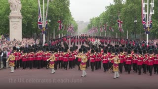 Trooping the Colour: Celebrating the Queens Birthday - Video