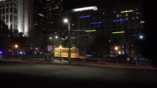 Officer-Involved Shooting Downtown Atlanta - Video