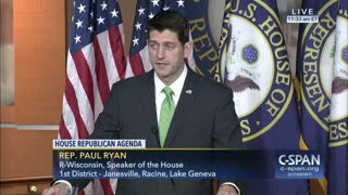 Ryan Calls Immediate Resignation Representative Conyers - Video