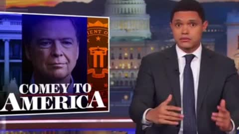 Even Comedian Trevor Noah Thinks James Comey Is A Hypocrite