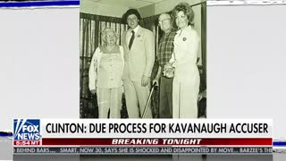 Juanita Broaddrick notes that Hillary Clinton was unwilling to give her due process