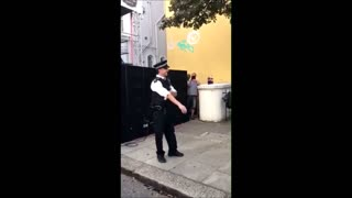 Police officer turns out to be undercover raver! - Video