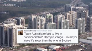 Australian Olympics Team Refuses To Stay At Olympic Village Due To Poor Conditions - Video