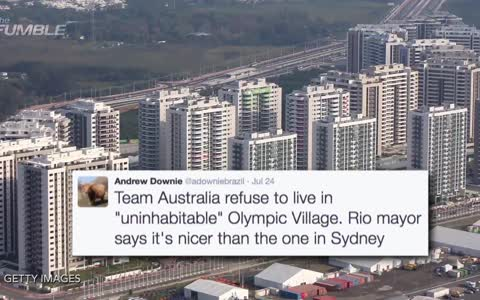 Australian Olympics Team Refuses To Stay At Olympic Village Due To Poor Conditions