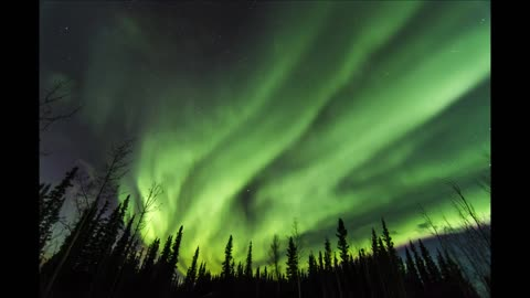 Spectacular New Year's Eve Aurora display in Alaska