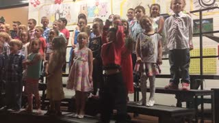 Mini Michael Jackson Puts On A One Kid Show