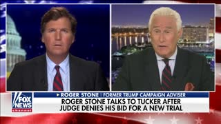 Roger Stone speaks to Tucker Carlson about sentence