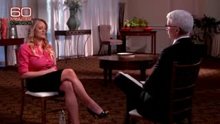 Stormy Daniels on 60 Minutes: I was threatened - Video