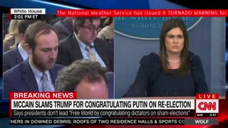 Press Secretary Talks Russian Presidential Election, Says U.S. Can't 'Dictate' Other Countries - Video