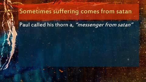 How to Respond to Suffering in Our Lives1 Peter 4:12-19