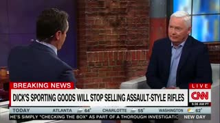 Dick's Sporting Goods CEO Genuflects Before Chris Cuomo - Video