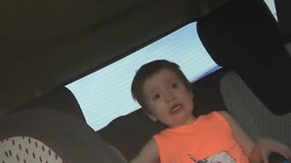 Little kid orange shirt crying screaming because he is called a ginger