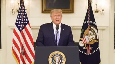 "President Trump Addresses The Nation: ""Our incredible journey is only just beginning """