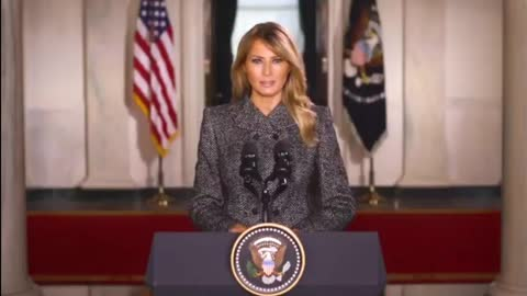 A thank you message from the first lady