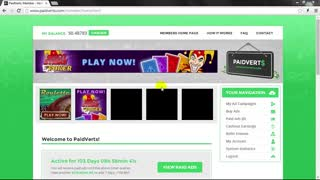 Paidverts Make Money Online - Video