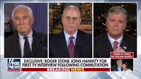 2020 JUL 14 ROGER STONE FIRST INTERVIEW & GRATEFUL TO GOD FOLLOWING COMMUTATION FROM PRES TRUMP