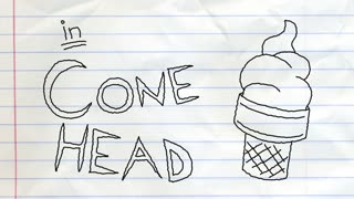 Cone Head | Pencilmation Cartoon #14 - Video