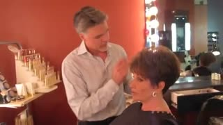 Christopher Hopkins, The Makeover Guy® and His Mother Prepare for TV - Video