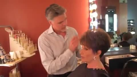 Christopher Hopkins, The Makeover Guy® and His Mother Prepare for TV