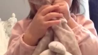 Adorable Toddler Knows Her Anatomy And Points At Body Parts On Command - Video