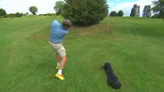 Competitors race against time in British Open Speedgolf Championship - Video
