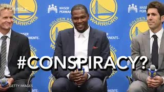 Kevin Durant Takes Nachos From Young Fan In Middle of Practice - Video
