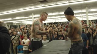 Ink Masters Slap Off Contest KO Championship Match - Video