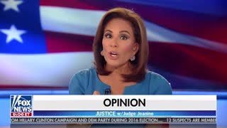 Judge Jeanine Pirro Lays Out Strzok's Crimes Against America