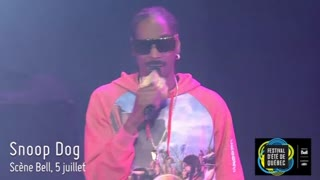 Snoop Dogg, Journey, among performers at Quebec Summer Festival - Video
