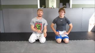 Back Take from Front Headlock - Wrestling and JiuJitsu - Video