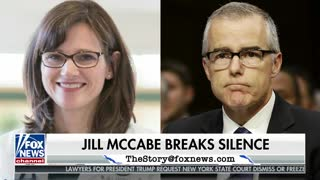 Andrew McCabe's wife slams President Donald Trump in sob story op-ed - Video