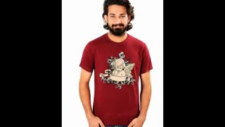 Printed Men T Shirts - Video