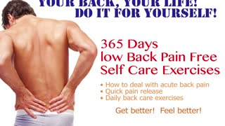 Acute Low Back Self-care Day 1 ~ AyaCise  - Video
