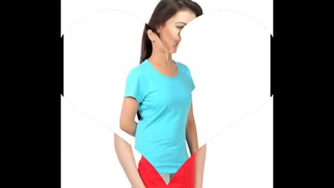 Womens White Colour Plain T Shirts