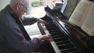 Playing A Bechstein Grand Piano - Video