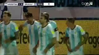VIDEO: Leo Messi goal vs Uruguay
